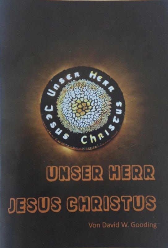 """Broschüre """"Unser Herr Jesus Christus"""""""